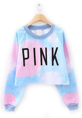 sweater crop tops sweatshirt