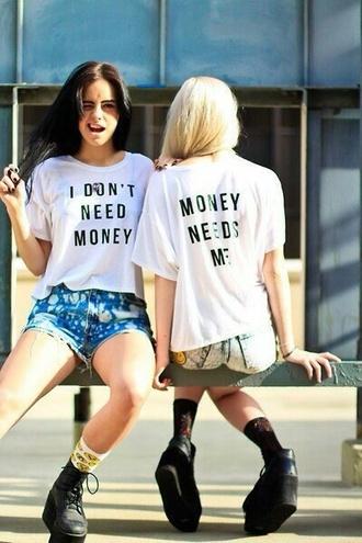 t-shirt money funny