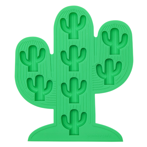 Cactus Ice Trays 2 Set - Green and Pink