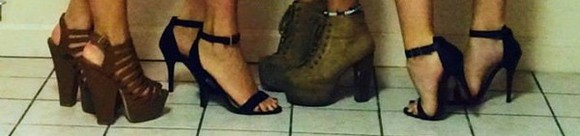 shoes wedges brown