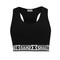 Shade sports crop top / black – shade london