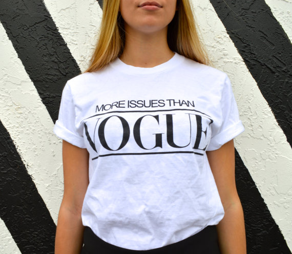 More issues than vogue by styleatease on etsy