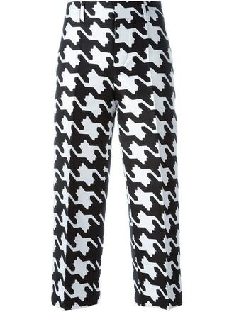 women babe cotton black silk pants