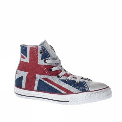 Converse trainers shoes kids all star hi uk for Converse all star amazon