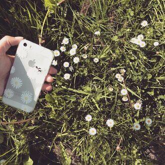 phone cover yeah bunny daisy floral cute iphone cover iphone case iphone