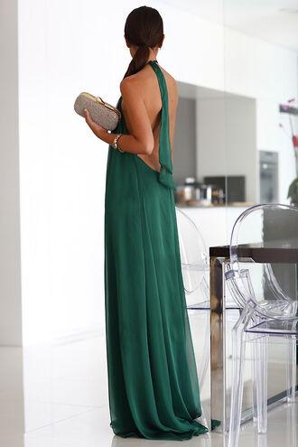 green green dress maxi maxi dress green maxi dress backless dress green maxi dark green forest green dress