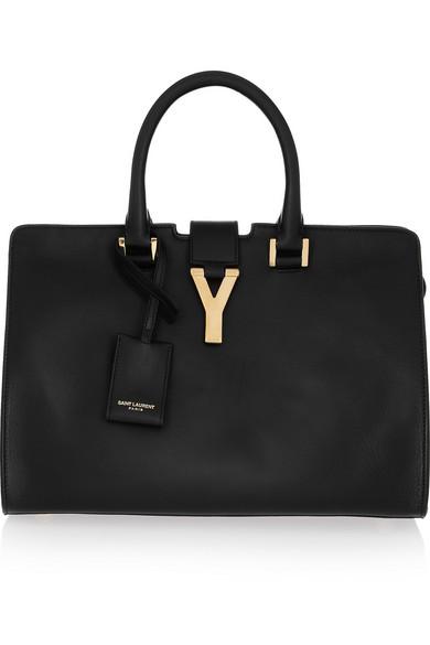 Saint Laurent|Cabas Y leather tote|NET-A-PORTER.COM