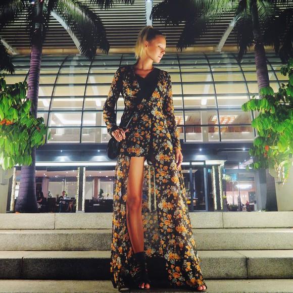 floral dress blogger martina m boho