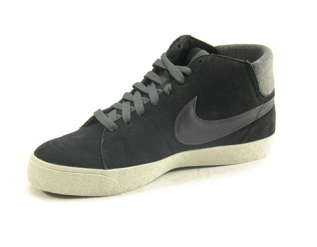 Nike Blazer Mid LR Black Anthracite Neutral Grey trainers
