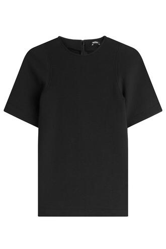 top cotton black