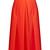 High-waist stretch-poplin A-line skirt