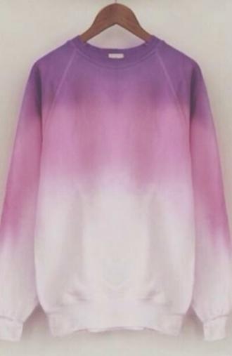 sweater tie dye ombr? ombre