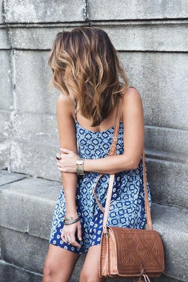 jumpsuit blue summer outfits romper pattern cute dress sun dress blue dress summer dress pretty dress