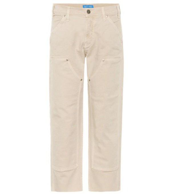 M.i.h Jeans Phoebe trousers in beige / beige