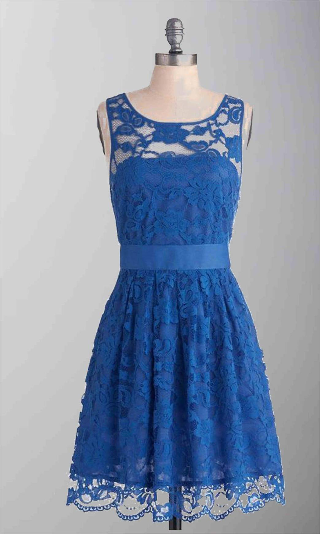 Blue Lace Short Bridesmad Dress with Sash KSP287 [KSP287] - £89.00 : Cheap Prom Dresses Uk, Bridesmaid Dresses, 2014 Prom & Evening Dresses, Look for cheap elegant prom dresses 2014, cocktail gowns, or dresses for special occasions? kissprom.co.uk offers various bridesmaid dresses, evening dress, free shipping to UK etc.