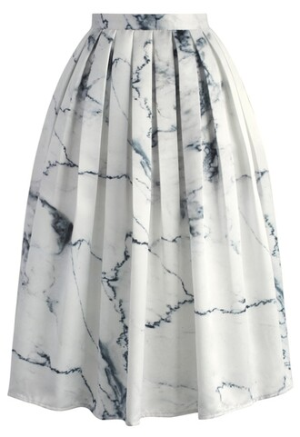 skirt marble chic printed midi skirt chicwish midi skirt printed skirt
