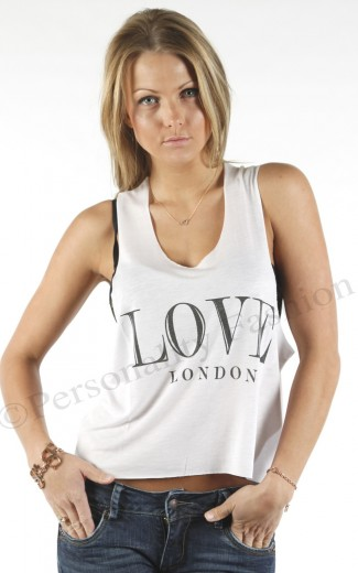 Love London Shirt Nikkie by Nikkie Plessen | Personality Fashion