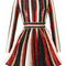 Long sleeve sequin embroidered flare dress by zuhair murad | moda operandi