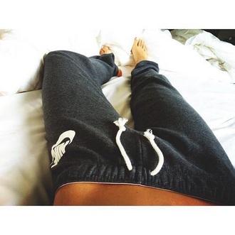 pants nike nike pants grey black grey pants black pants
