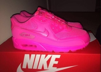 shoes nike air max 90 gs hyper pink