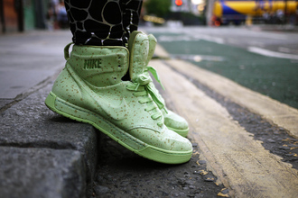 nike green shoes green sneakers sneakers nike air royalty pistachio macarons shoes