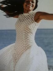 dress,white,daisy,lace,gown,cute,summer,summer dress