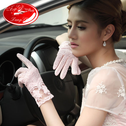 Aliexpress.com : buy driving prevent summer sun women gloves to prevent ultraviolet light, breathable absorbent lady fashion lace gloves from reliable gloves rider suppliers on cri min