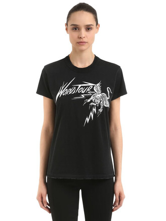 t-shirt shirt tiger black top