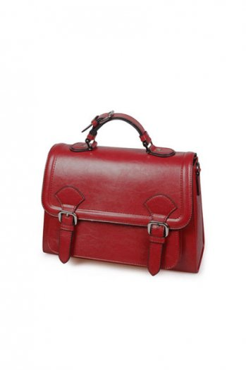 Pu doctor retro dark red bag [ab0003]