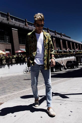 alexander liang blogger menswear mens jeans camouflage mens t-shirt mens shoes mens jacket streetwear gap h&m tom ford