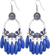 jewels,chandelier earrings,faceted earrings,beaded earrings,candyluxx