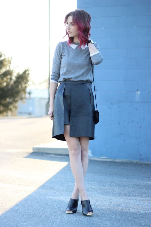 jess style rules skirt sweater bag
