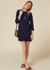 dress,ribbed dress,sweater dress,navy dress,reformation