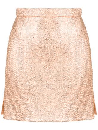 skirt mini skirt mini women cotton grey metallic
