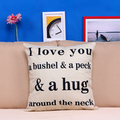 home accessory,print,pillow,home decor,love,mothers day gift idea,valentines day gift idea,holiday season,hipster,quote on it,love quotes