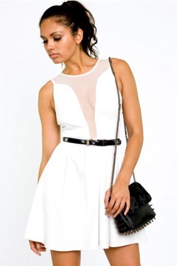 White Lulu Dress -$102