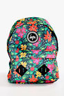 Hype Tropical Floral Green Backpack Large Bag