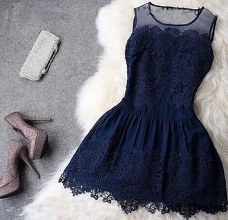 dress blue prom sparkle perfecto amazing dark blue