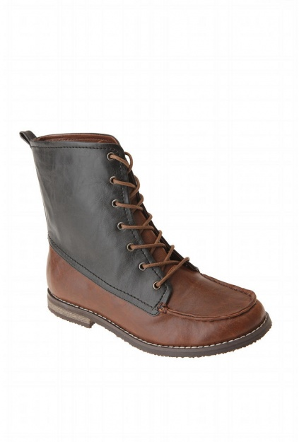 BDG Two-Tone Laceup Boot ($50-100)