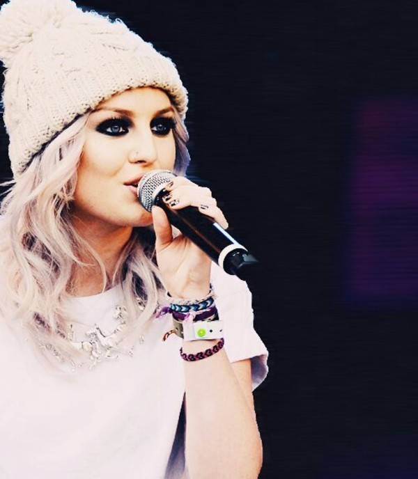hat blouse perrie edwards