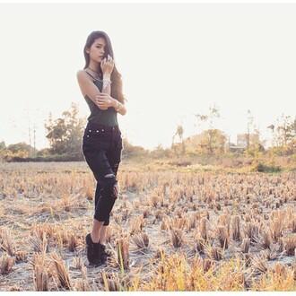 jeans denim ripped jeans ripped black black denim black jeans black ripped jeans boyfriend jeans black boyfriend jeans