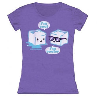 t-shirt cool shirts cool ice purple