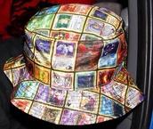 hat,bucket hat,pokemon,cards,dope