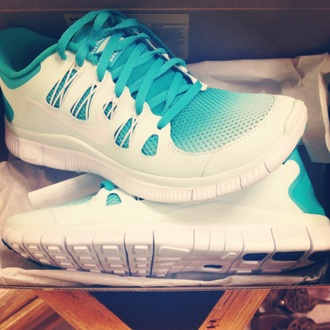 shoes nike ombre love pretty workout