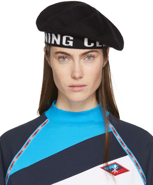 opening ceremony beret black hat