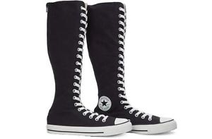 acb10bed36e8 Converse CT All Star XXHI Knee High Tennis Shoe Boot-Dark Navy W ...
