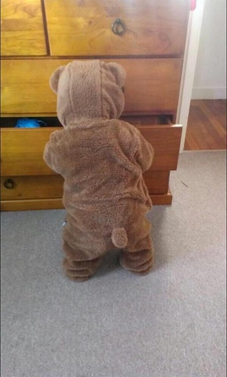 home accessory teddy bear baby outfit cute onesie