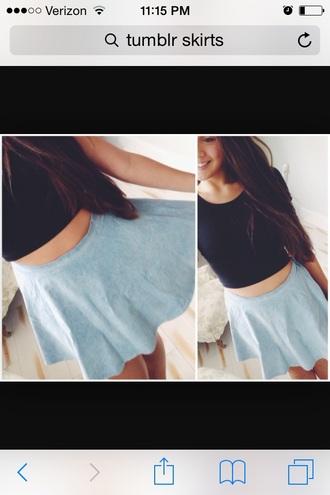 skirt denim circle skirt
