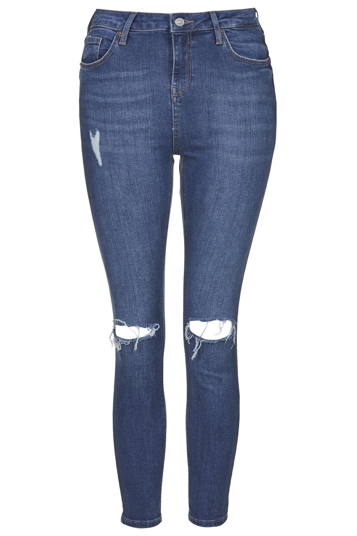 Petite moto blue jamie jeans