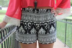 Day of damask shorts